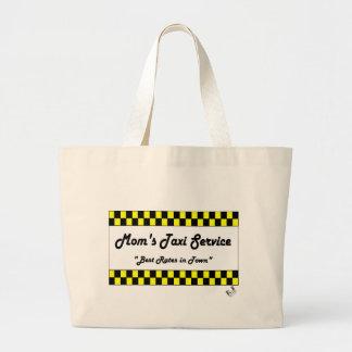 Moms Taxi Jumbo Tote Bag
