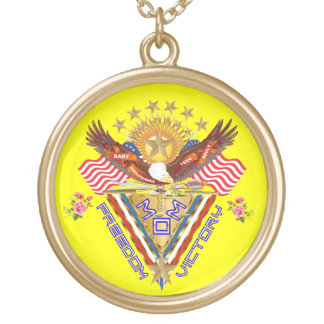 Moms Victory Award Important View About Design Gold Plated Necklace