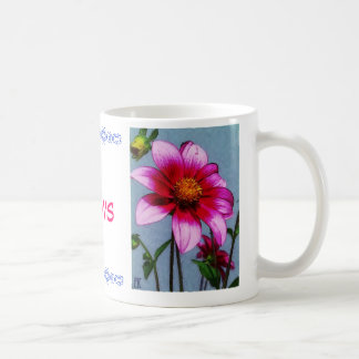 Mom's with Love Basic White Mug