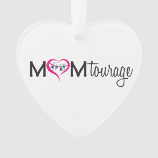 Momtourage Heart Ornament