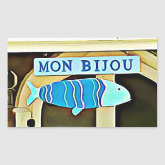 Mon Bijou Martha's Vineyard Stickers