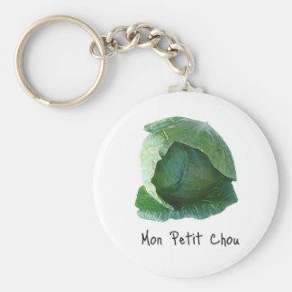 Mon Petit Chou Basic Round Button Key Ring