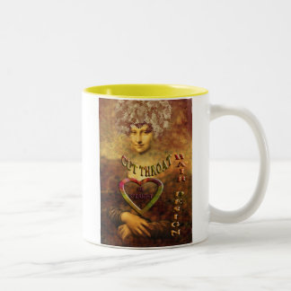 mona copy Two-Tone mug