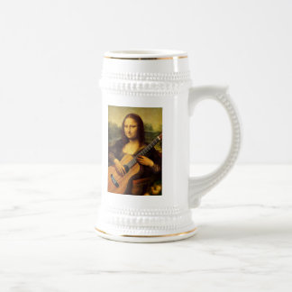 Mona Guitar Beer Stein
