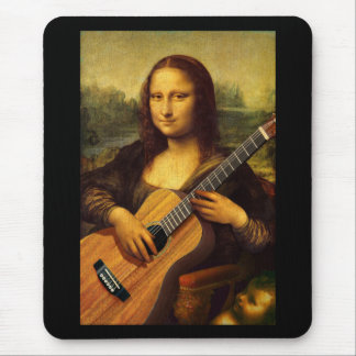 Mona Guitar Mouse Pad