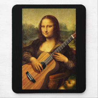 Mona Guitar Mouse Pad