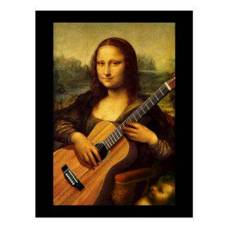 Mona Guitar Postcard