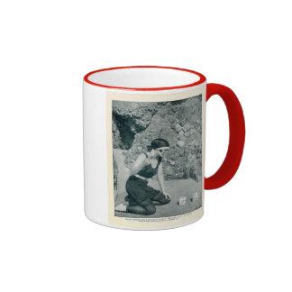 Mona Kingsley 1922 vintage portrait mug