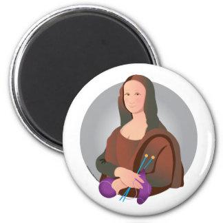 Mona Knits Magnet