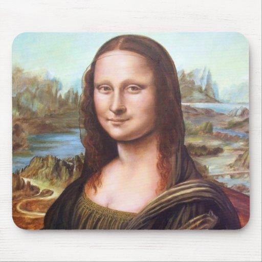 Mona Lisa after Leonardo Mousepads