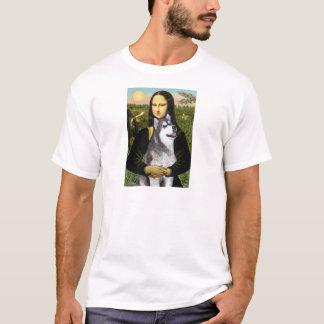 Mona Lisa - Alaskan Malamute T-Shirt