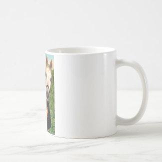 Mona Lisa and her Arabian Horse Coffee Mug