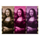Mona Lisa Animal Print Purple Pink Chocolate