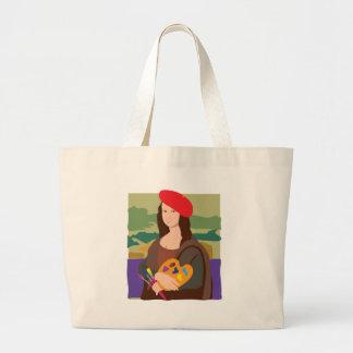 Mona Lisa Artist Bags