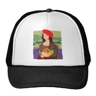 Mona Lisa Artist Cap