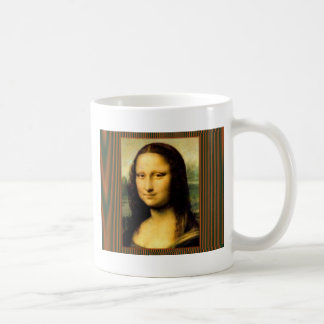 Mona Lisa Basic White Mug