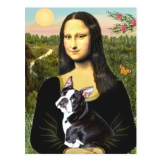 Mona Lisa - Boston T 4 Postcards