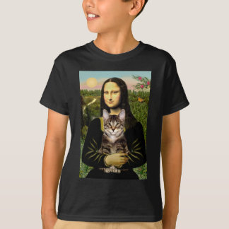 Mona Lisa - Brown Tabby Tiger cat T-Shirt