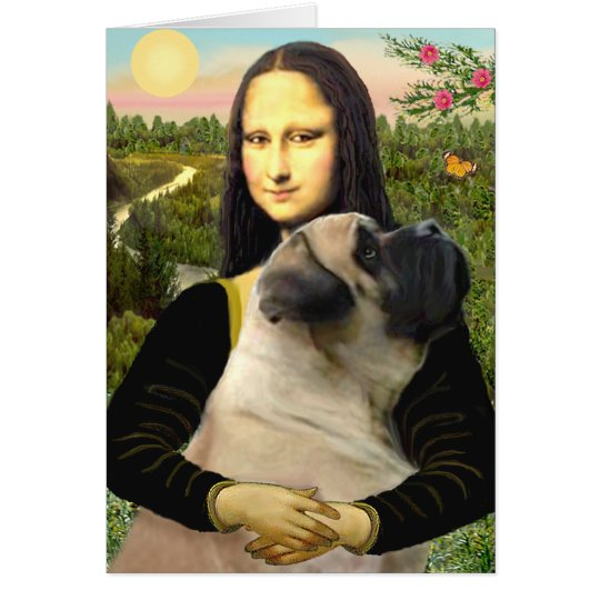 Mona Lisa - Bull Mastiff #1 Card