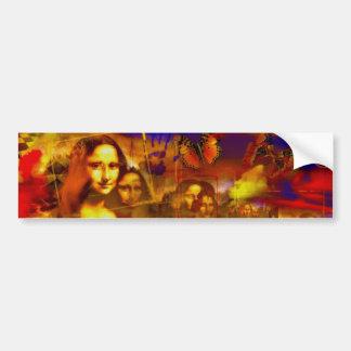 Mona Lisa Bumper Sticker