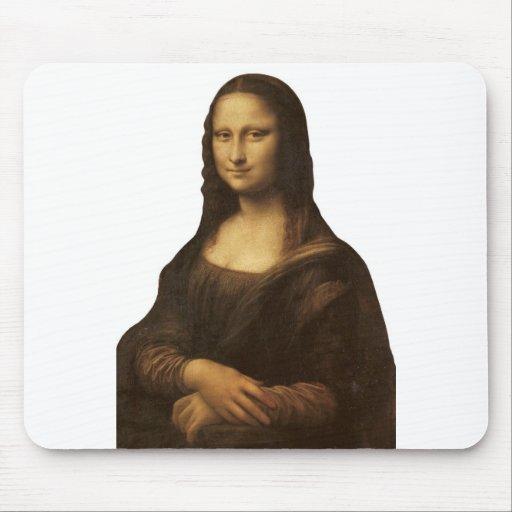 Mona Lisa by Leonardo da Vinci circa 1505-1513 Mousepad