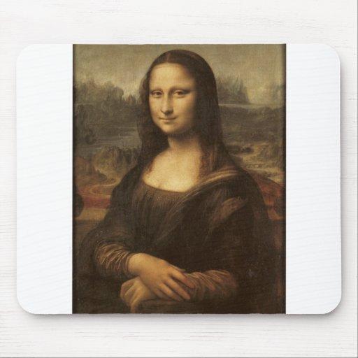 Mona Lisa by Leonardo da Vinci circa 1505-1513 Mouse Pads