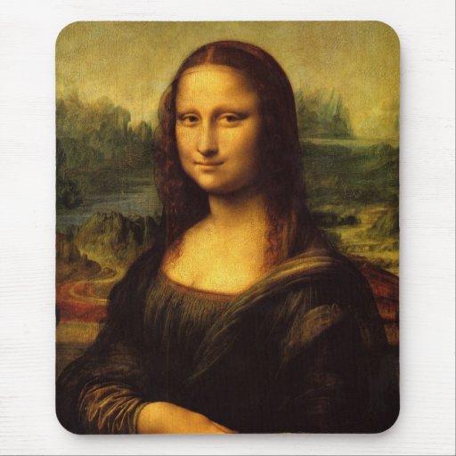 Mona Lisa by  Leonardo Da Vinci Mouse Pad