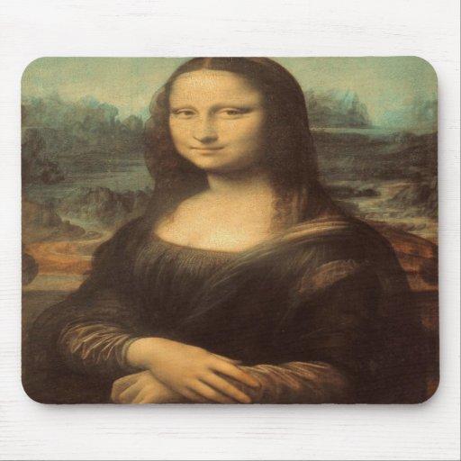 Mona Lisa by Leonardo da Vinci Mousepad