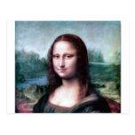 Mona Lisa by Leonardo da Vinci Postcard
