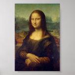 Mona Lisa by Leonardo da Vinci Posters