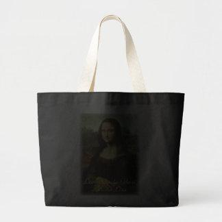 Mona Lisa by Leonardo da Vinci, Renaissance Art Canvas Bag