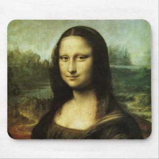 Mona Lisa by Leonardo da Vinci, Renaissance Art Mouse Pad