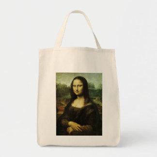 Mona Lisa by Leonardo da Vinci Vintage Renaissance Tote Bag
