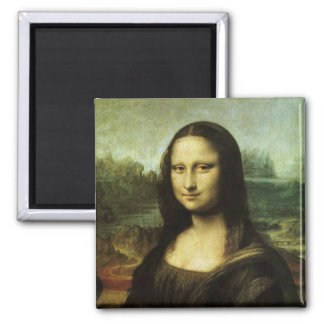 Mona Lisa by Leonardo da Vinci Vintage Renaissance Refrigerator Magnet