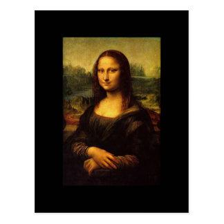 Mona Lisa by Leonardo DE Vinici Postcard