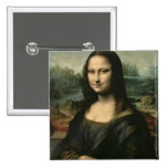 Mona Lisa, c.1503-6 15 Cm Square Badge