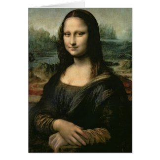 Mona Lisa, c.1503-6 Card