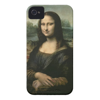 Mona Lisa, c.1503-6 (oil on panel) Case-Mate iPhone 4 Cases