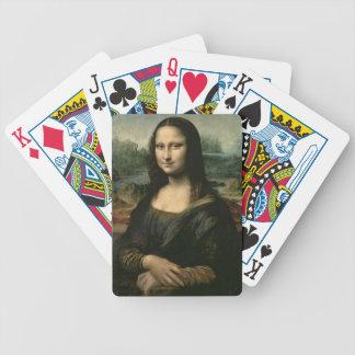 Mona Lisa, c.1503-6 (oil on panel) Poker Deck