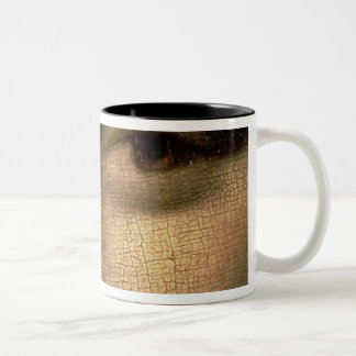 Mona Lisa, c.1503-6 Two-Tone Coffee Mug