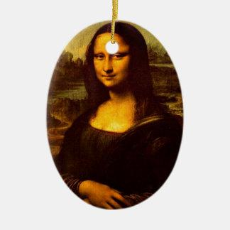 Mona Lisa Christmas Ornament