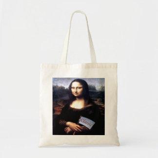 Mona Lisa Classic Birthday Gifts Budget Tote Bag