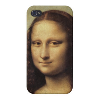 Mona Lisa close up by Leonardo daVinci iPhone 4/4S Cases