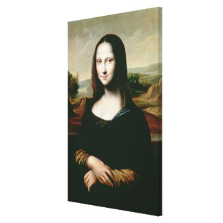 Mona Lisa, copy of the painting by Leonardo da Vin Canvas Print
