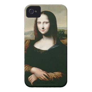 Mona Lisa, copy of the painting by Leonardo da Vin iPhone 4 Case