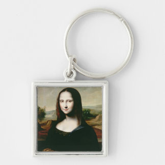 Mona Lisa, copy of the painting by Leonardo da Vin Key Ring