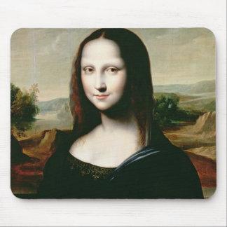 Mona Lisa, copy of the painting by Leonardo da Vin Mouse Mat