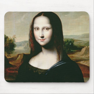Mona Lisa, copy of the painting by Leonardo da Vin Mouse Pad