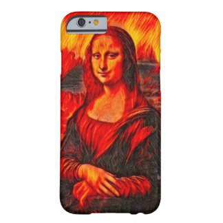 Mona Lisa Dante's Inferno Style Portrait Barely There iPhone 6 Case