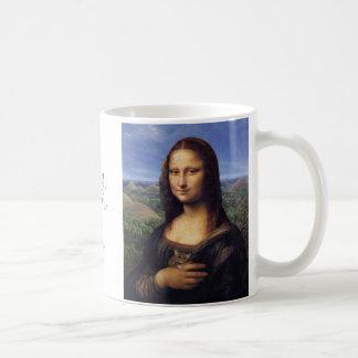 Mona Lisa de Bohol Basic White Mug